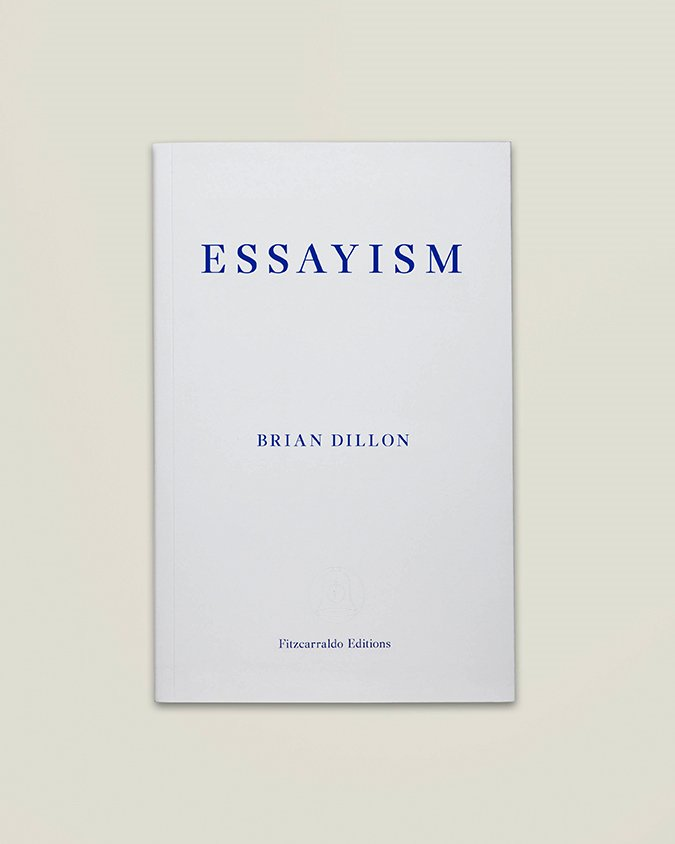 Excited to read the brilliant @briangdillon&#39;s latest text ESSAYISM @FitzcarraldoEds #Georges Perec, #Joan Didion, #Sir Thomas Brown.<br>http://pic.twitter.com/Xxy4MGwix9