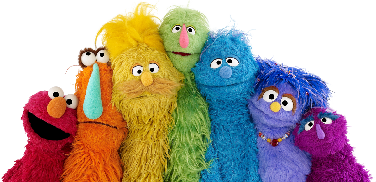 Sesame Street is proud to support families of all shapes, sizes, and c...