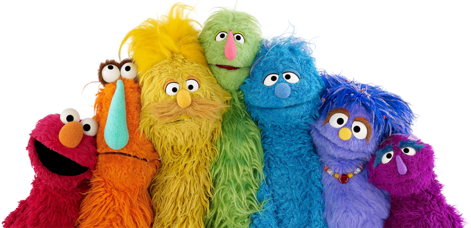 Sesame Street is proud to support families of all shapes, sizes, and colors. ❤️
