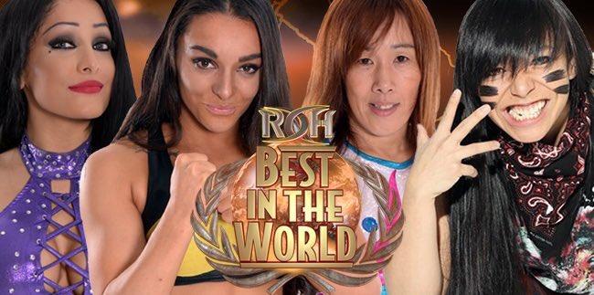 Tonight at #ROHBITW! #GOATSistas @mandyleonxo @deonnapurrazzo vs @sumi...