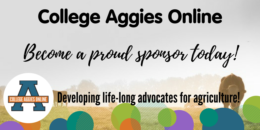 Sign up to sponsor our 2017 @AggiesOnline scholarship program today!  http:// bit.ly/2sYQRP0  &nbsp;   #CAO17 <br>http://pic.twitter.com/1FCCPHgpv9