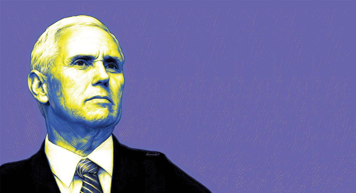 Mike Pence might be the most consequential vice president ever. He could well be the next commander in chief. https://t.co/RKeW70OSDL