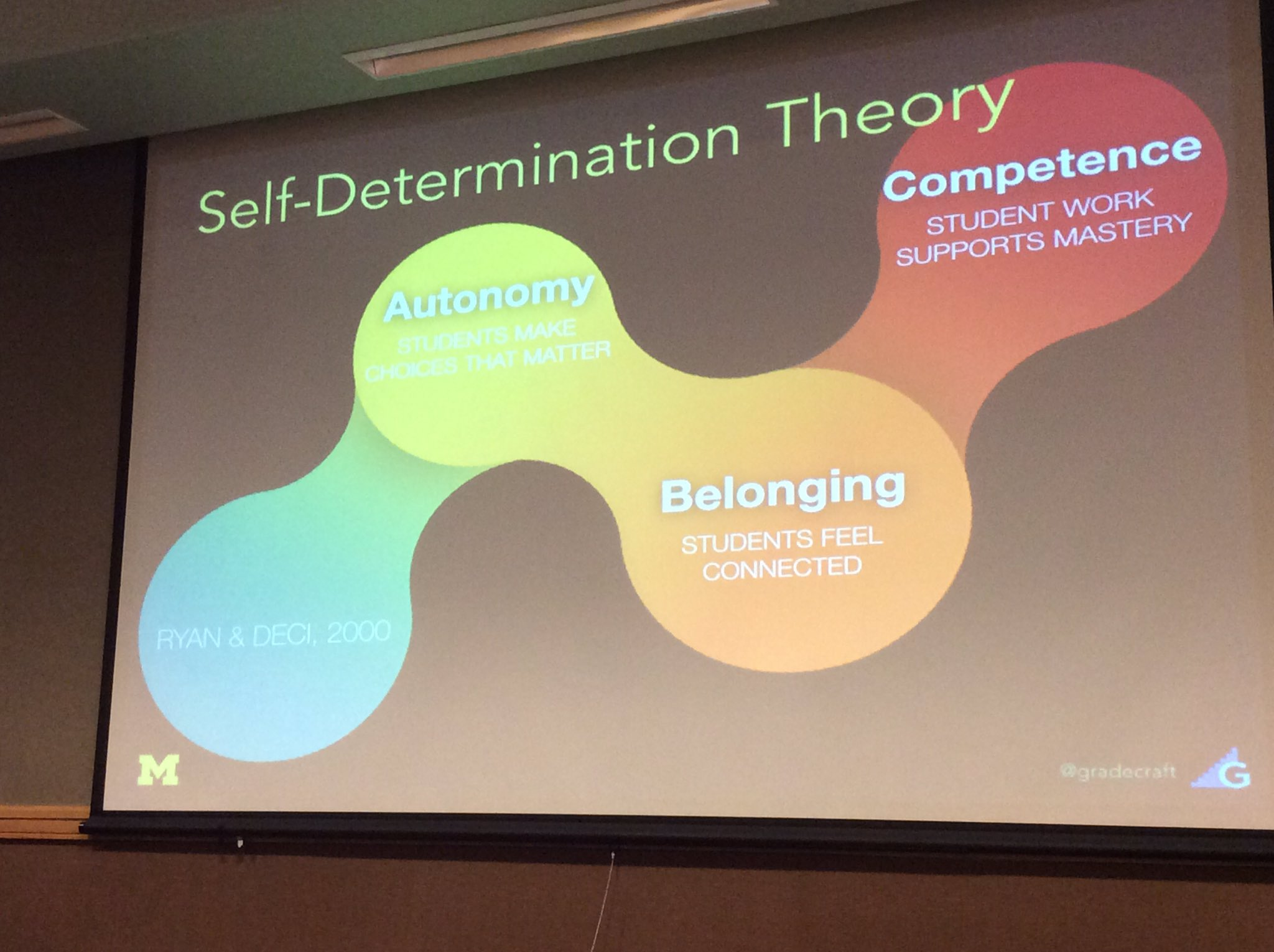 Self-determination theory components #ecorn17 https://t.co/nyaEw6mzZu
