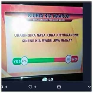 #uhurutoka @UKenyatta you like ur dialect too much The writing is on the wall #meru<br>http://pic.twitter.com/dSYjY02vwK
