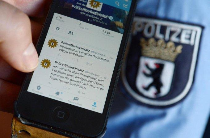 Die @PolizeiBerlin_E twittert für 24 Stunden alle ihre EInsätze in #Berlin. #24hpolizei https://t.co/Ye3HoWCFA2
