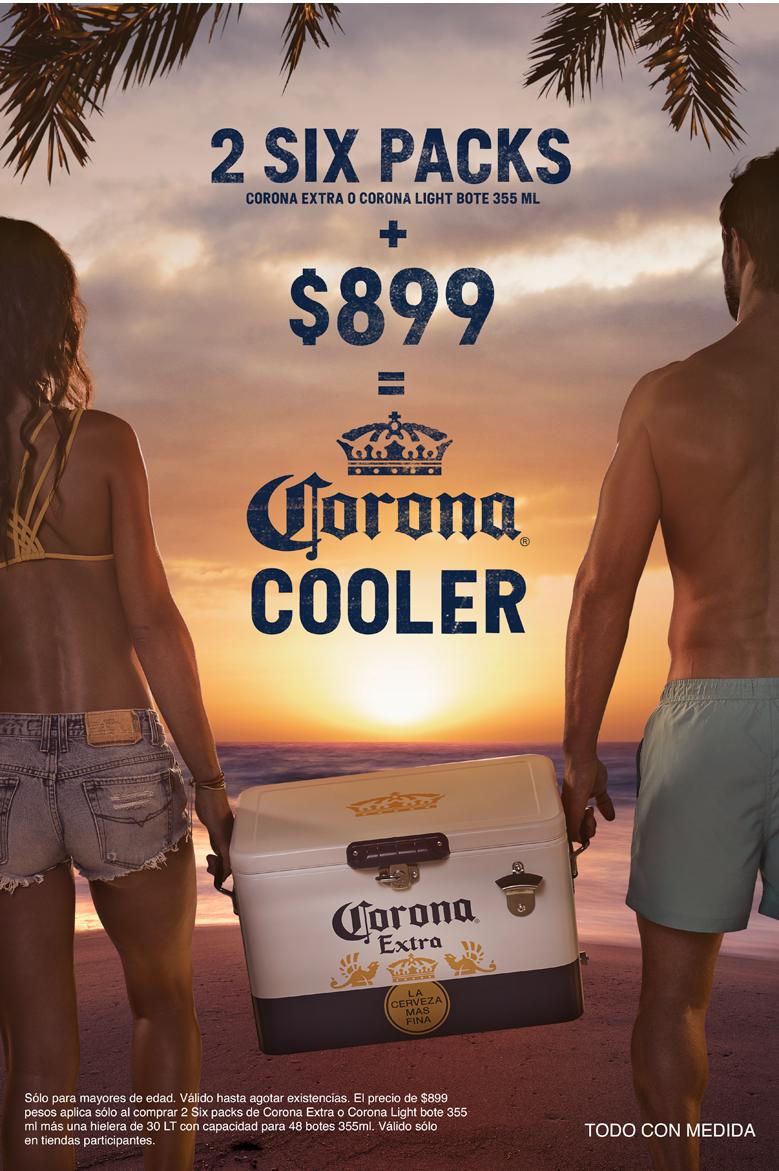 Deja la rutina, entierra tus pies en la arena y disfruta del verano con #CoronaCooler, encuéntrala en Modelorama y Walmart https://t.co/ZxLE3CJhA1