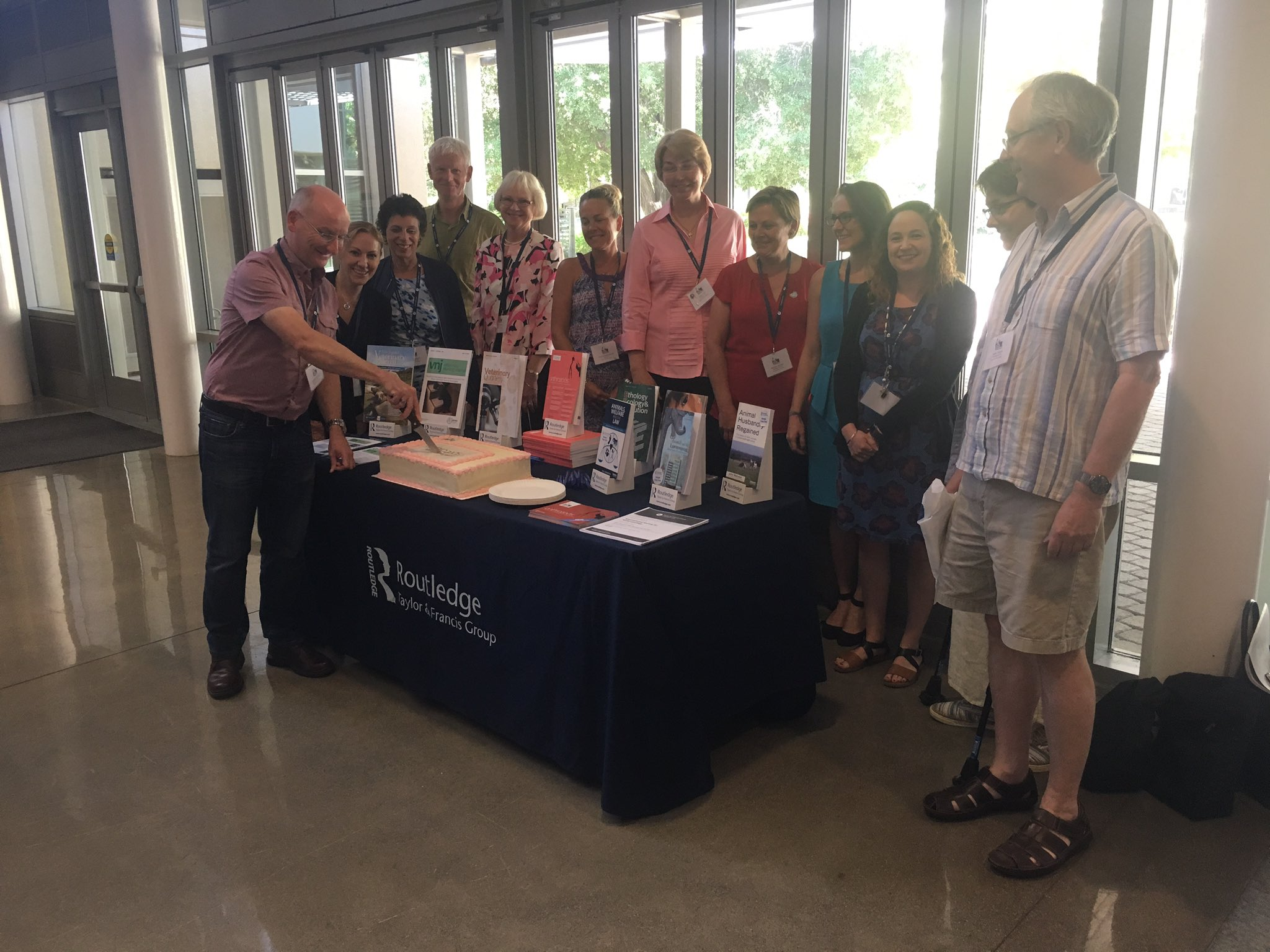 #isaz2017 Come join us! We are cutting the cake! https://t.co/bNtfGRAvzy