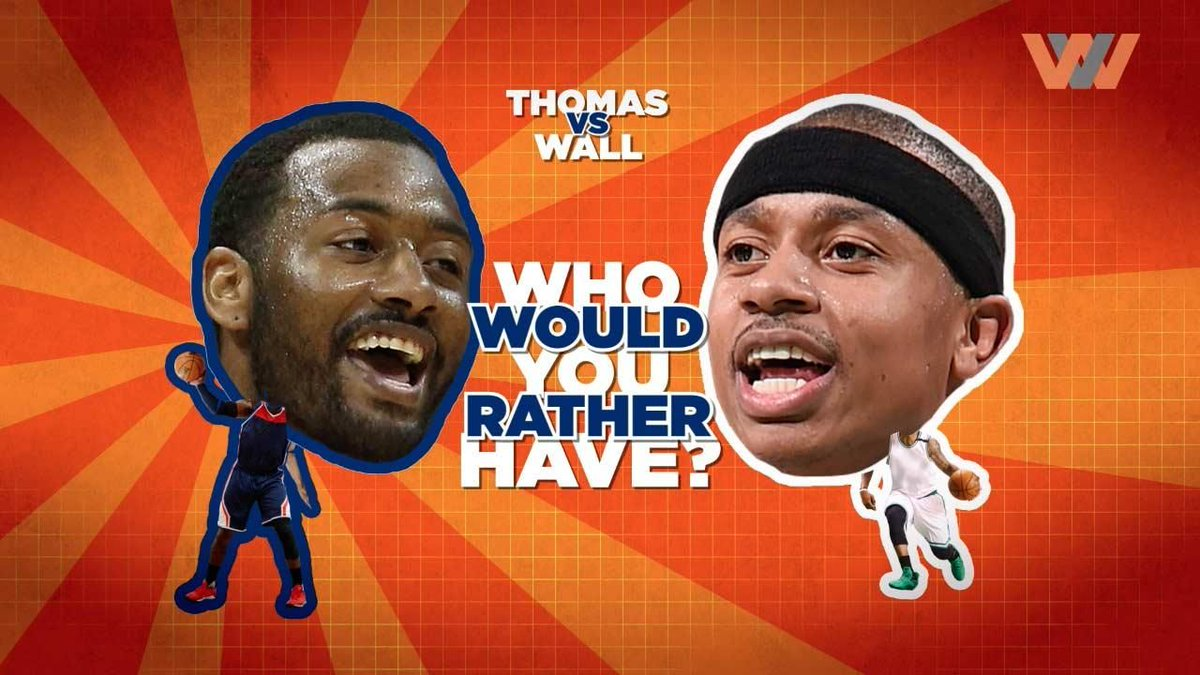 Even if Thomas' small stature will always limit him defensively, #Wall may not knock down as many shots as #Thomas!  http://www. winnersview.com/videos/john-wa ll-vs-isaiah-thomas-whos-better?utm_source=Twitter&amp;utm_campaign=wvsocial&amp;utm_medium=Social &nbsp; … <br>http://pic.twitter.com/B2mwemYv1a