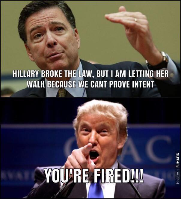 Anyone else notice since #Comey fired ZERO leaks? #ComeyTheLeaker #ComeyGate #DeepStateAgent #ComeyLynchCoverUp #ComeyFBIDisgrace<br>http://pic.twitter.com/EwtpWJw6fK