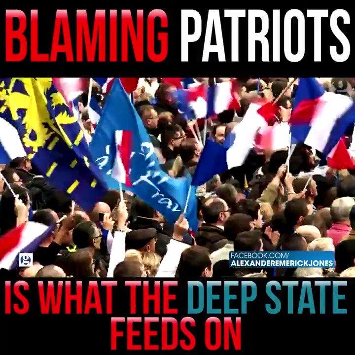 The rhetoric against American patriots is a major psyop  #WakeUpAmerica #infowars