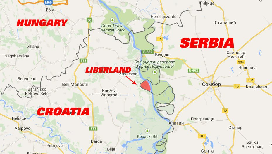 Liberland On Twitter The Physical Location Of Liberland Is On - Danube river location on world map