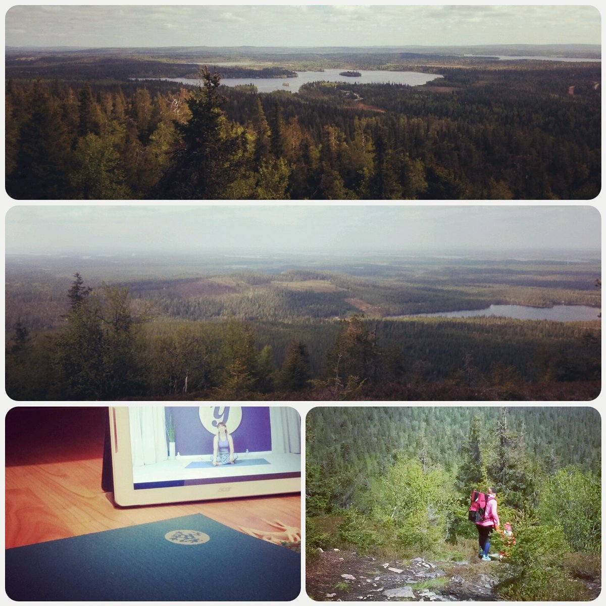 Marvelous day behind me. Some #yoga and #hiking in #kuusamo #ruka #valtavaaranhuiputus @yogaiaofficial Have a nice #midsummerday #juhannus <br>http://pic.twitter.com/jUuM89d0rT