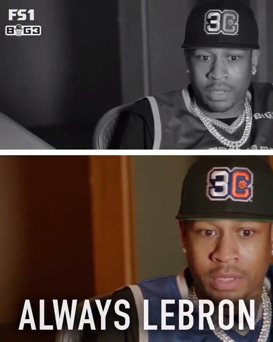 'Man, I love Russell Westbrook.' - @alleniverson The Answer & @icecube talk favorite NBA players