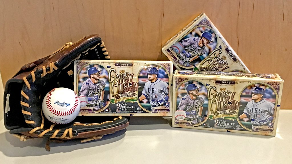 We've got 3 @Topps #GypsyQueen boxes. Each box has TWO on-card autogra...