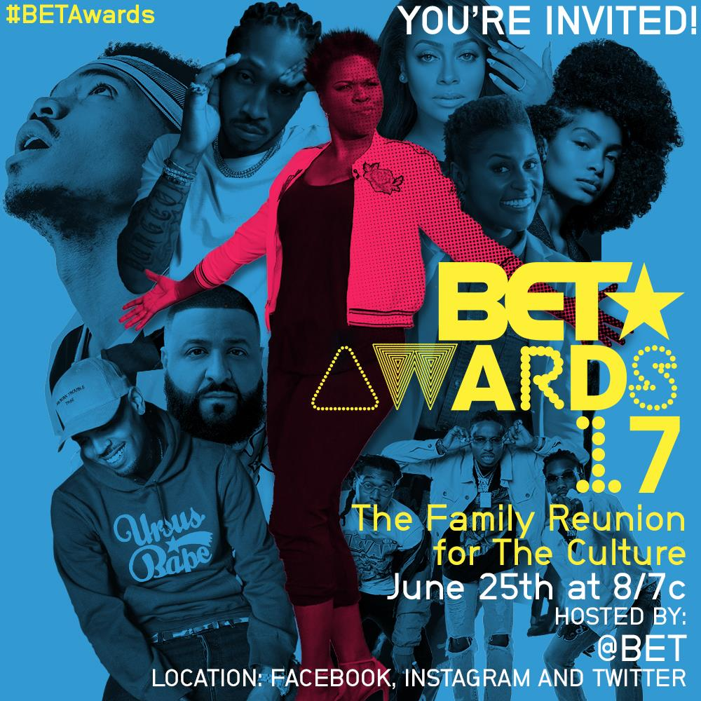 The #BETAwards are coming your way TONIGHT! Watch it with us on @BET a...