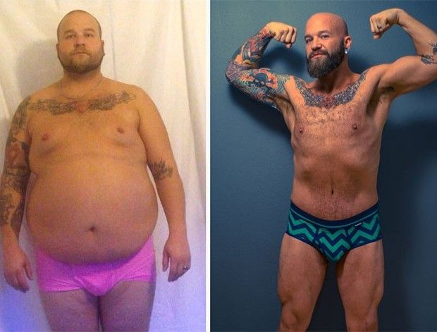 The incredible story of how this man lost 200 pounds https://t.co/48Bq...