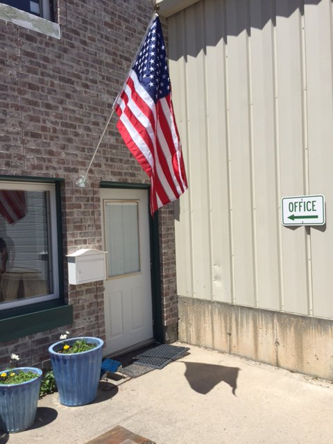 @SMWesterly is proudly flying Old Glory outside our #Westerly office! Thank you @paradisoins for gifting the flag at your #FlagDay event! <br>http://pic.twitter.com/7AON1HmPOj