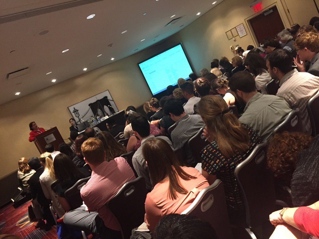 #FRDNY @prasadc packs a full house for @NYCAFP #research #philanthropy #Giving <br>http://pic.twitter.com/FkbFoXqZxd