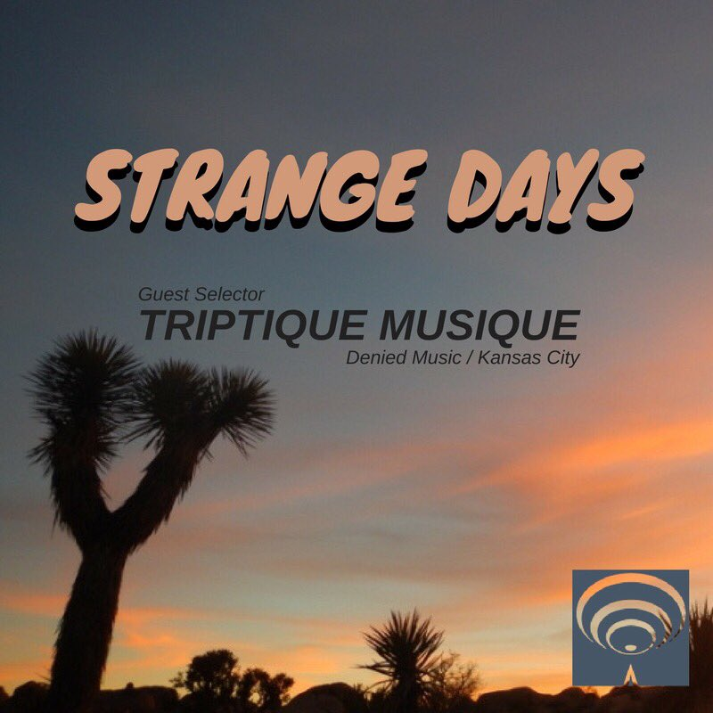 #TuneIn Sunday for our next episode w/DJ&#39;s @adamwarped &amp; guest @TriptiqueMusiq on @hypersonicradio! 1-3pm Mountain  http://www. hypersonicradio.com  &nbsp;  <br>http://pic.twitter.com/lIJvEySUB9