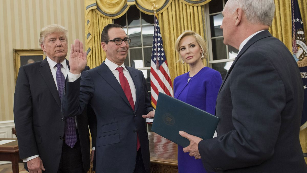 Trudeau's finance minister and Wilbur Ross will attend Mnuchin's wedding this weekend https://t.co/Y5s8M24TpT