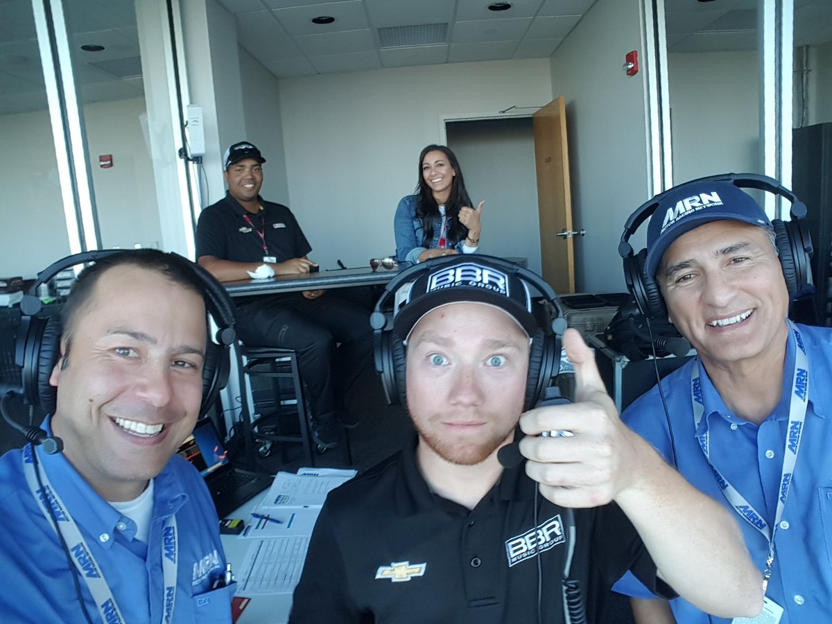 Tune is in from @iowaspeedway for @NASCAR_Trucks racing @MRNRadio w Dan Hubbard, @TylerReddick @LexDeLeon @iancmoye #NASCAR #AskMRN<br>http://pic.twitter.com/Y6xbKSVdmG