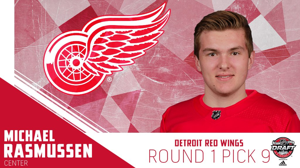 A new arena awaits the newest member of the @DetroitRedWings, Michael...