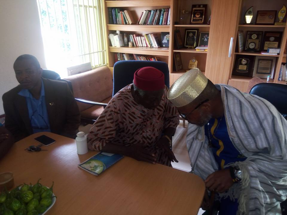 Nnamdi Kanu and his faction, in this video, meets with the Government of the Indigenous People of Biafra [IPOB] spearheaded by Dr Dozie Ikedife.