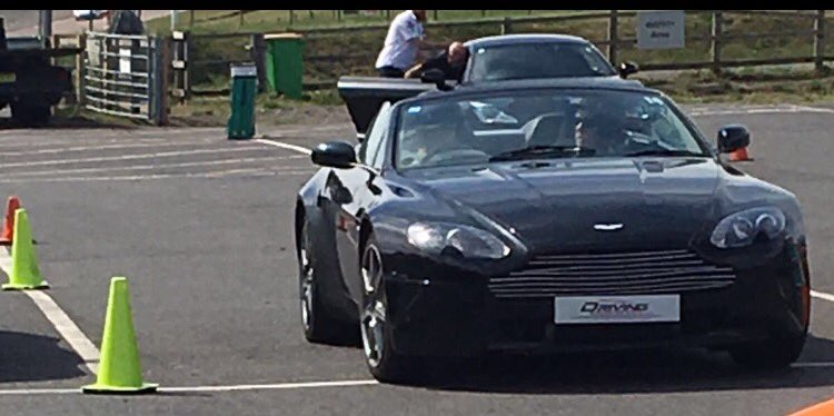 I had a fantastic day @LyddenHill @EverymanRacing experience #AstonMar...