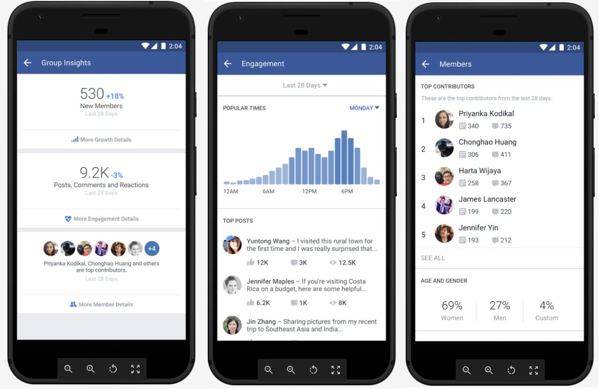 Facebook Announces New Tools for Groups, Updated Mission Statement htt...
