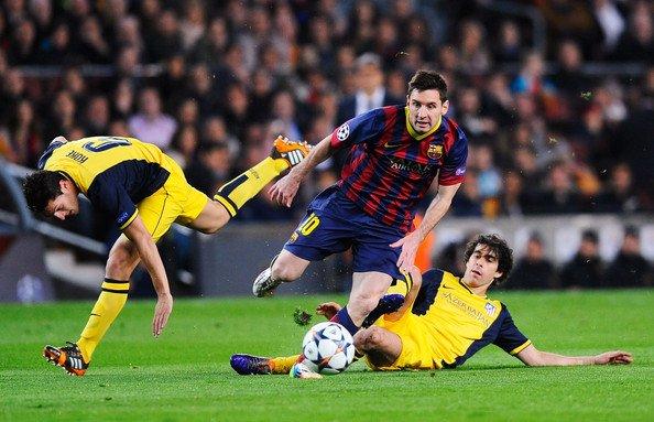 Koke: 'Cristiano Ronaldo é um atleta. Messi é um deus'.   Amanhã Messi...