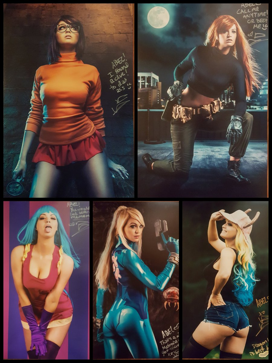 Got my @danielleggwp prints today #cosplay #model #velma #kimpossible #mememe #samus #lucoa<br>http://pic.twitter.com/BlJsN9WYRC