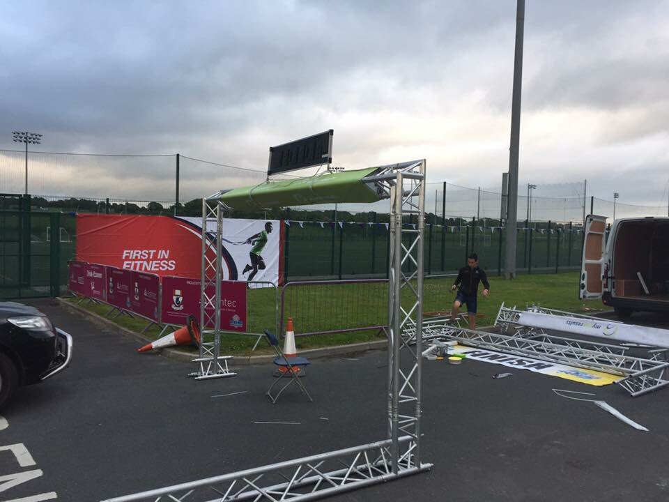 Exciting times! The @WVMarathon finish line @ArenaWit is almost in place! #WIT #Waterford #Viking #Marathon #1MoreSleep #StudyatWIT<br>http://pic.twitter.com/BecARWb3Xb