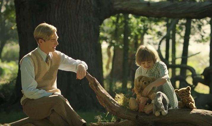 The trailer for the new live-action 'Winnie the Pooh' movie is here an...