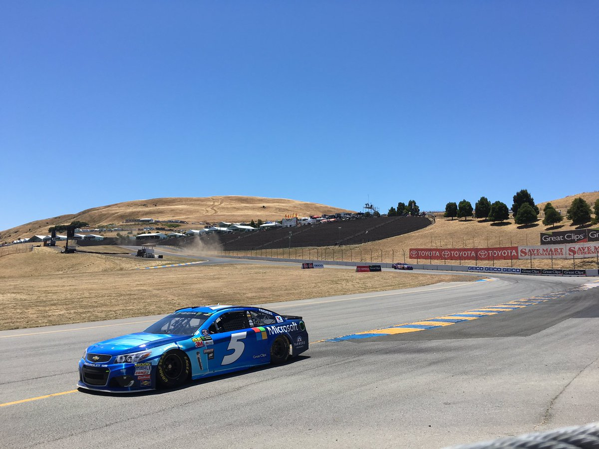 Practice for the #TSM350 is in session. Teams will take over 50 practi...