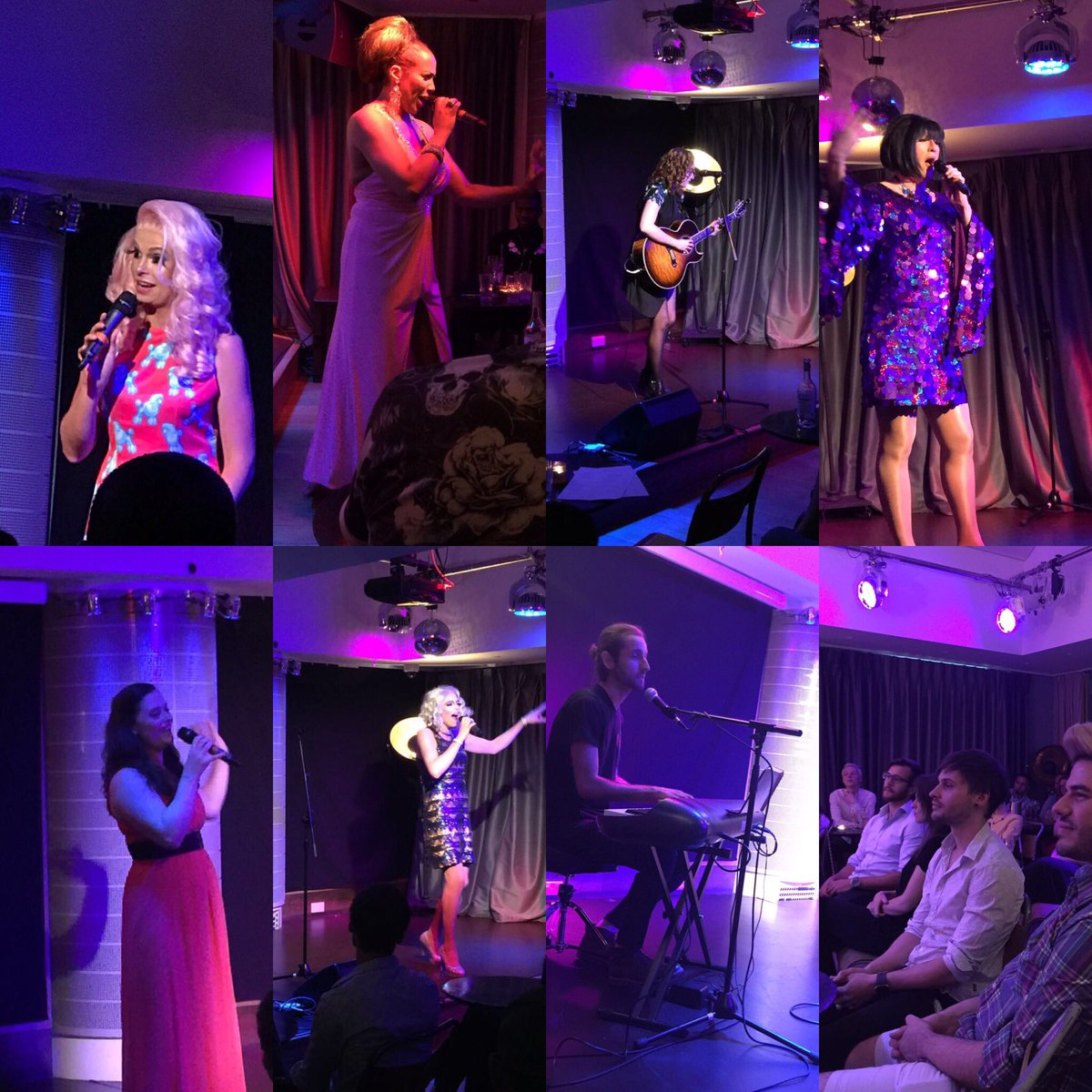 A wonderful night of @LondonLGBTPride #PridesGotTalent at @TheHospitalClub - promoting emerging talent #music <br>http://pic.twitter.com/IDeQXFhaM0