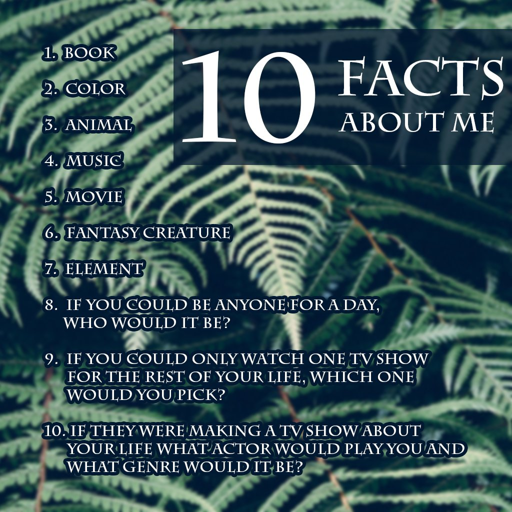 What are your answers? 🦋🤓 #aboutme #questions #facts