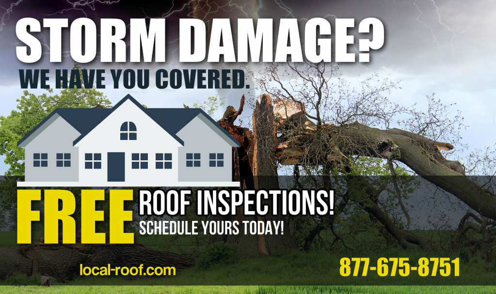 #Roof #StormDamage - FREE #RoofRepair Estimates  Call 877-675-8751   http:// local-roof.com  &nbsp;    #roofingcompany #roofingcontractor #haildamage<br>http://pic.twitter.com/CO5vomOv4o