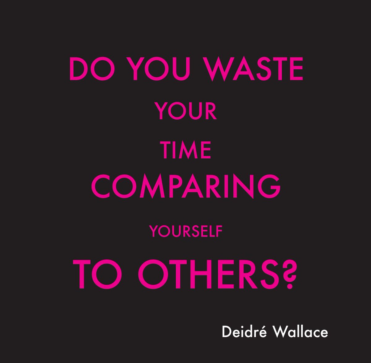 #Blog 23: Learn how not to #compare yourself to others at:https://t.co...