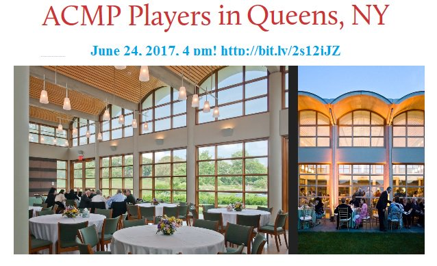 Saturday! Wonderful Free Event! @ACMPMusic in Queens!  http:// bit.ly/2s12jJZ  &nbsp;   #chambermusic #ny #Queens<br>http://pic.twitter.com/2BQN63noo7