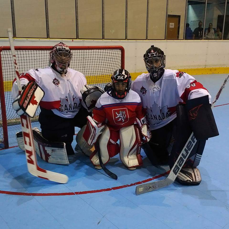 The Czech National team has goaltending covered 20 years from now, great meeting this little guy #giving back #grassroots @NBHAC @WBHFinfo<br>http://pic.twitter.com/FwuBZlcqmx