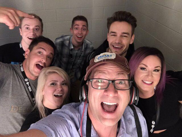 #New | Liam backstage at #ZPLBirthdayBash with @smileyradioshow<br>http://pic.twitter.com/ilTLV1ufkA