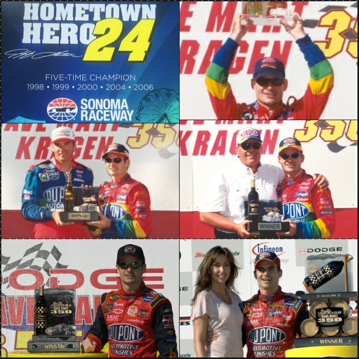 Stat: Jeff Gordon is the all-time @RaceSonoma wins leader with 5 #NASCAR victories (1998, 1999, 2000, 2004, 2006) <br>http://pic.twitter.com/KdZ23YbGAN