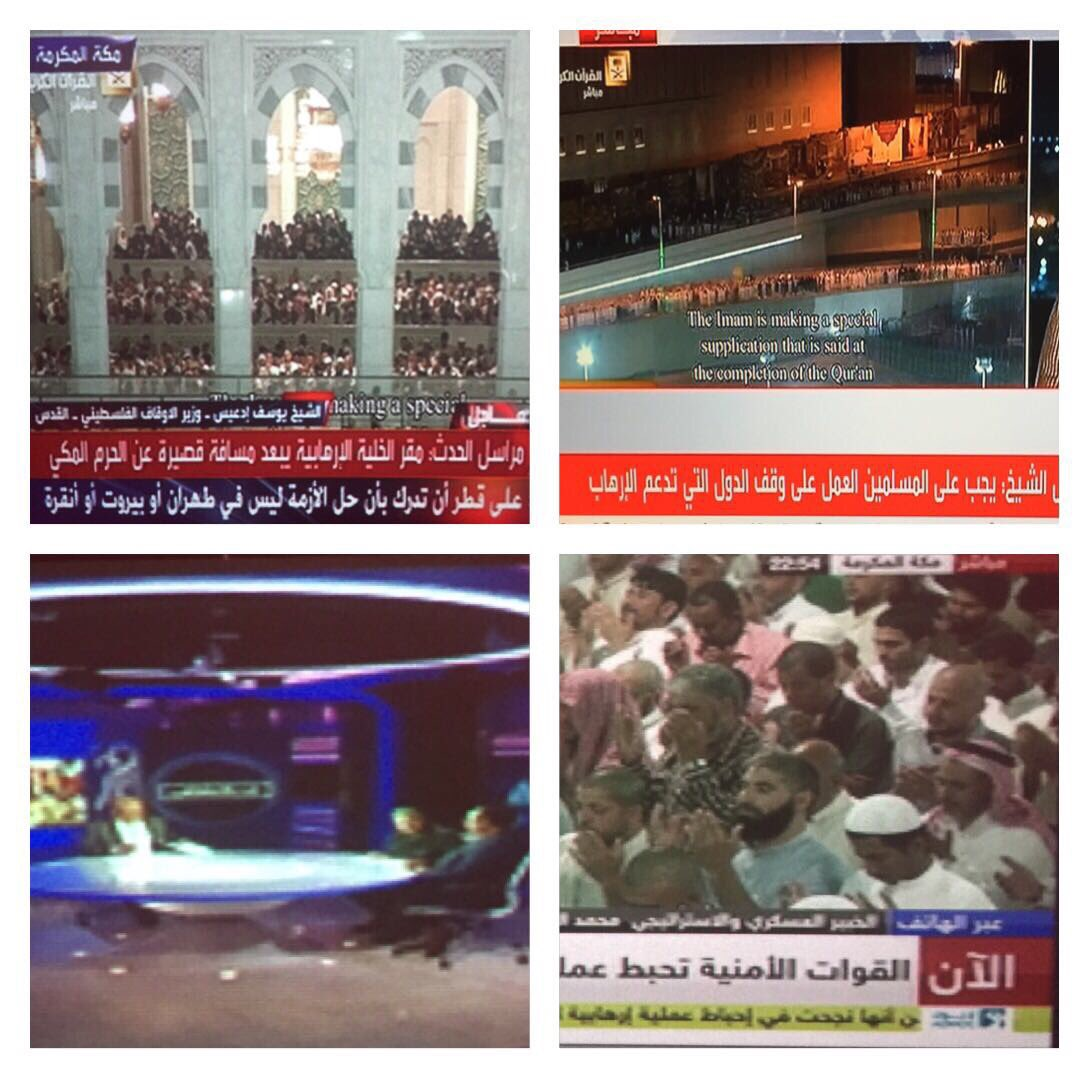 بينما العالم يدين هذه الجريمة #الجزيرة_تتجاهل_الإرهاب_بالحرم ! https:/...