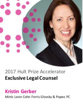 Congratulations to @MintzLevin and @gerberka - exclusive legal partner to @hultprize #accelerator #startups #hp17<br>http://pic.twitter.com/Gm5DLL6M2T