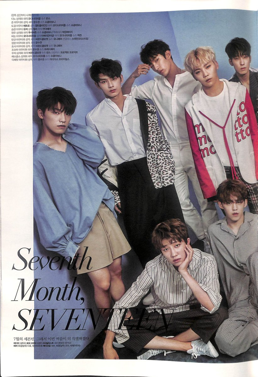 [SCAN] SEVENTEEN @ Star1 Magazine. (cr: magazine_O) #D <br>http://pic.twitter.com/kAvqZo3mgu