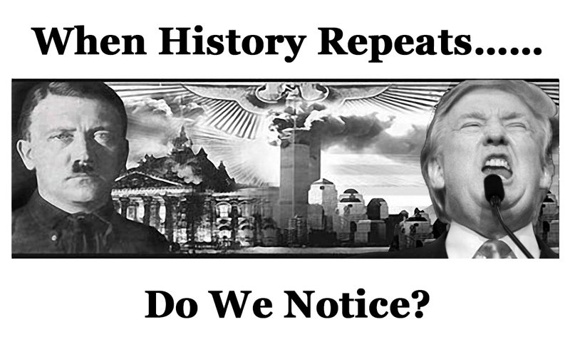 When History Repeats, Do We Notice? #Resist #Resistance #TheResistance #Indivisible #SCROTUS  #MAGA (by Jailing tRump)<br>http://pic.twitter.com/r4pHe5bUiS