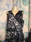♢Δ #JENNIFER #LOPEZ XL BLUE ANIMAL PRINT FAUX WRAP DROP #WAIST SLEEVELESS TU... Shop &amp; Save  http:// ebay.to/2tIgRui  &nbsp;  <br>http://pic.twitter.com/wg3APiEWHE