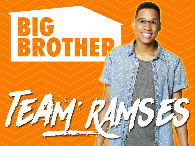 Preseason, RT & LIKE If You're Team RAMSES! #BB19 https://t.co/VXN...