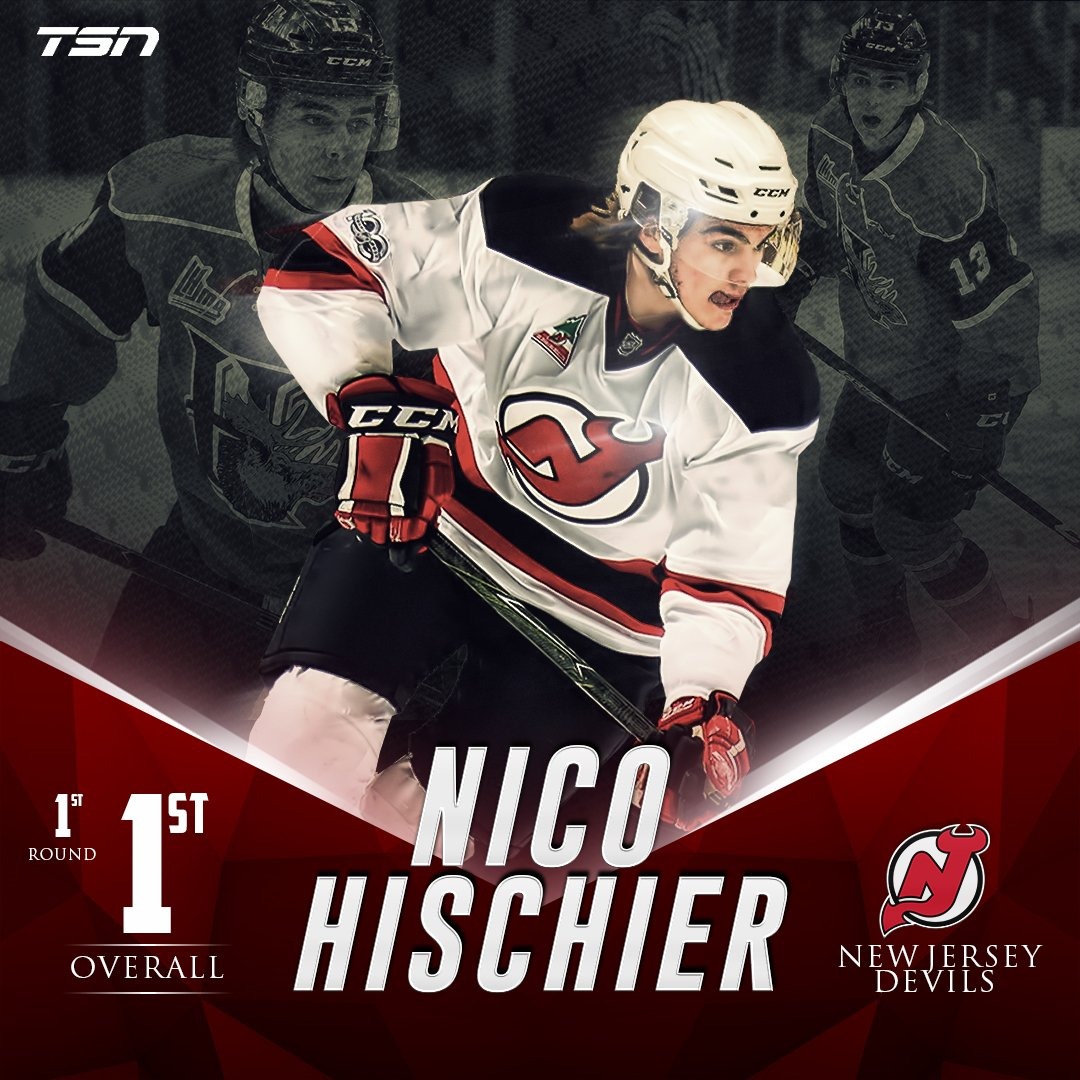 With the first pick in the 2017 #NHLDraft, the @NJDevils select Nico H...