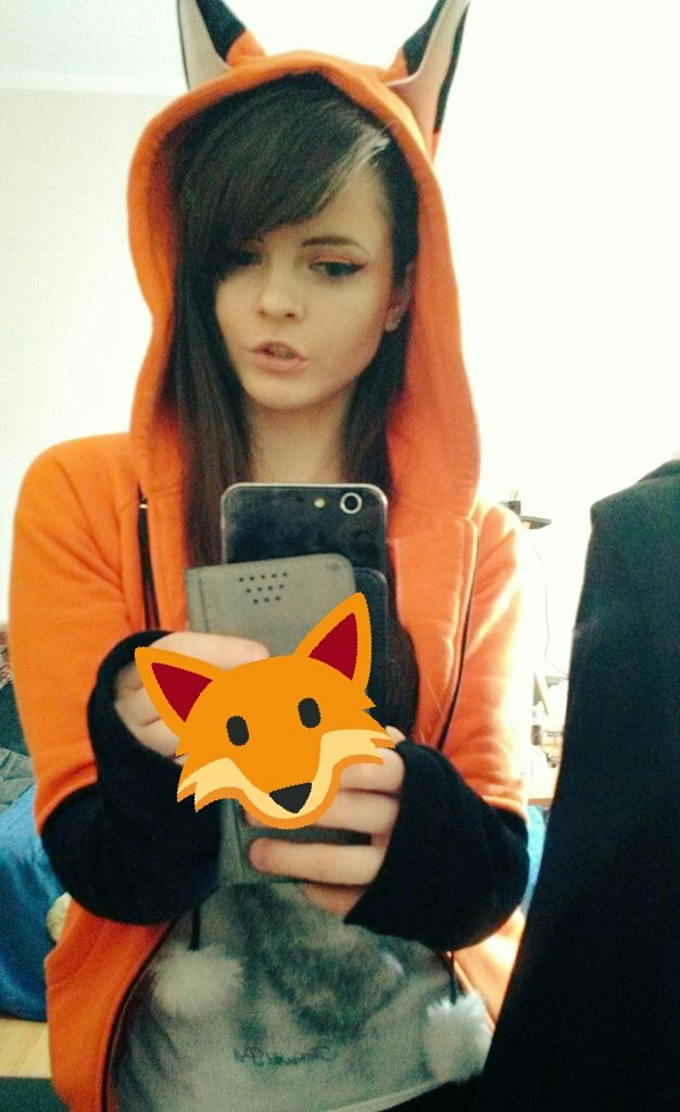 Damn, I love this hoodie so much~ #fox #hoodie <br>http://pic.twitter.com/U0flQucYT7